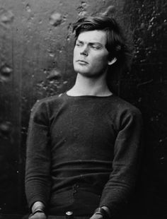 Lewis Powell.  Very handsome!  (Too bad he tried to kill the Secretary of State, William Seward in 1865....)