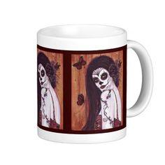 Ranita Day of the dead coffee mug by Renee