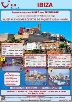#Ibiza es otro de nuestro destinos #smart para este mes de #septiembre