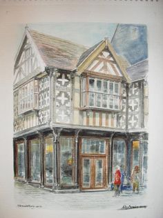 Fine Art - Shrewsbury - Watercolour