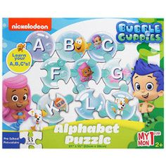 Bubble Guppies My First Alphabet Puzzle [33 Pieces]