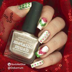 @picturepolish metallic mush Hercynia Skarlett и трафареты ацтек от @rocknailstar_shop #nails #nailru #маникюр #трафаретныйэкстаз #rocknailstar_shop #rocknailstar #маникюрныйинстаграм