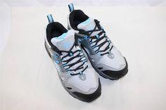 NEW Gravity Defyer Orbit Running Sneakers Gray Sky Blue Comfort RETAIL $129 #GravityDefyer #RunningCrossTraining