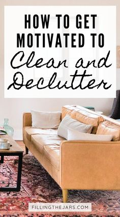 Feeling stuck in your messy and cluttered house? These 7 tips for how to get motivated to clean and declutter will help you get moving so you can enjoy a tidy home. A clutter-free home is so much easier - and faster! - to clean. Decluttering tips and inspiration for overwhelmed overthinkers. Minimal Bedroom, Minimal Home, How To Get Motivated, Clutter Free Home, Get Moving, Feeling Stuck, Diy Cleaners, Decluttering, Simple House