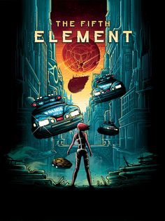 The Fifth Element by Dan Mumford / Twitter / Store Steelbook...