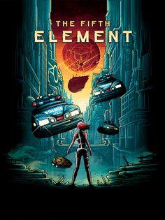 The Fifth ElementbyDan Mumford/Twitter/Store Steelbook...