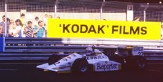 Gabriele Tarquini - March 87B [36] Cosworth DFV/Mader - First Racing - 2nd Halfords Birmingham Superprix - 1987 Formula 3000 Intercontinental Championship, round 8 - © Richard G. Hildsen