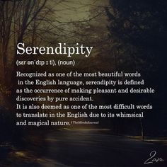 Serendipity – The Minds Journal The Effective Pictures We Offer You About beautiful words quotes wel The Words, Fancy Words, Weird Words, Beautiful Words In English, Most Beautiful Words, Pretty Words, Amazing Words, Weird English Words, Unusual Words