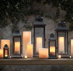 Savoy Square Lanterns | Lanterns | Restoration Hardware