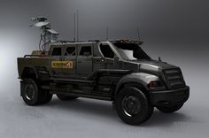 Communications Vehicle | G.I. Joe Concept Art,  Kemp Remillard.