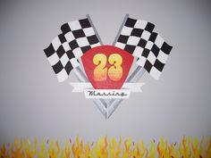 Boys Room, Race Car theme