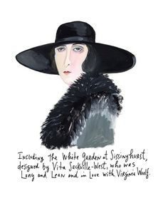Vita Sackville-West by Maira Kalman