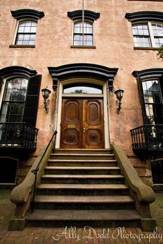 Perry Street residence - love these doors!