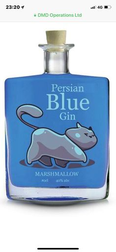 Trendy ideas for cats persian blue Blue Gin, Gin Festival, Gins Of The World, Gin Tasting, Gin Recipes, Persian Blue, Bottle Packaging, Geneva, Liqueurs