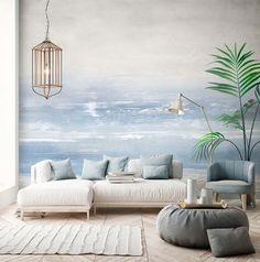 Wallpaper Stencil, Wallpaper Decor, Home Wallpaper, Reggio Emilia, Stunning Wallpapers, Loft Interiors, Mosaic Backsplash, Tile Murals, Karim Rashid