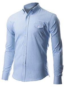 FLATSEVEN Men's Casual Slim Fit Button Down Chest Point Pocket Denim Shirts (SH621) Light Blue, L FLATSEVEN http://www.amazon.com/dp/B00XBLA0SM/ref=cm_sw_r_pi_dp_dqTwvb0ZJFWY8