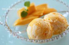 ハニーマンゴーチーズケーキアイスクリーム