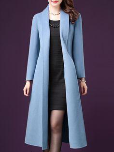 dress and coat outfit Hijab Fashion, Fashion Dresses, Fashion Coat, Coats For Women, Clothes For Women, Lace Dress Styles, Outerwear Women, Coat Dress, Mantel