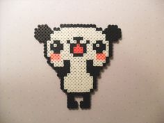 Perler Bead Kawaii Panda by KawaiiLittlePresents on Etsy