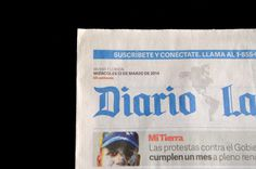 Abril Display, Abril Text and Adelle Sans in use in the newspaper Diario Las Américas http://www.type-together.com/index.php?action=portal/viewContent&cntId_content=3242&id_section=146