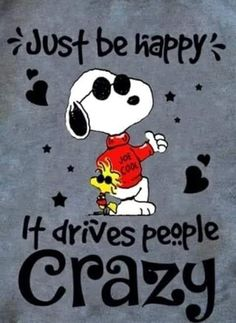 Snoopy Love, Snoopy And Woodstock, Winnie The Poo, Snoopy Pictures, Joe Cool, Snoopy Quotes, Just Be Happy, Favorite Cartoon Character, Peanuts Snoopy