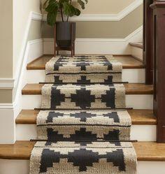 <Bowen Flatweave Jute and Wool Runner Rug Bowen Flatweave Jute & Wool Rug Stairs, Decor, Living Room Carpet, Interior, Carpet Trends, Home Decor, House Interior, Hallway Decorating, Jute Wool Rug