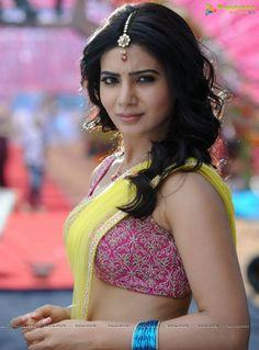 Tamil actress saree samantha