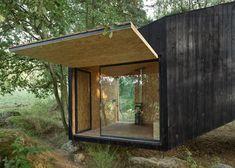 Forest Retreat by Uhlik Architekti - http://www.dezeen.com/2014/07/01/forest-retreat-by-uhlik-architekti/