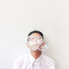 """ the bubble face ""  https://instagram.com/surydwiwahyu/"