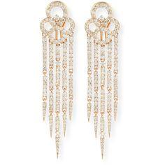Sutra 18K Rose Gold & Diamond Tassel Earrings qGLzQdkzR