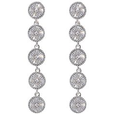 Ted Baker Rizza Drop Crystal Earrings, Silver (4.135 RUB) ❤ liked on Polyvore featuring jewelry, earrings, long silver earrings, earrings jewelry, swarovski crystal jewelry, crystal earrings and crystal jewellery