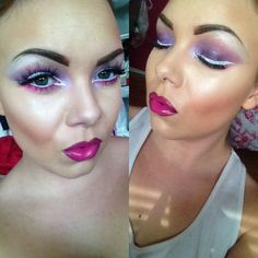 Spring colours inspired makeup