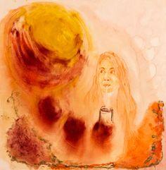 REFLEC MARIA oil on linen 81 x 81 cm