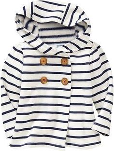 Hooded Fleece Pea Coats for Baby | Old Navy