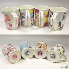 Moomin Mug Four Seasons set Yamaka Japan Finland Moomintroll Coffee Tea Cup Moomin Mugs, Jam On, I Cup, My Cup Of Tea, Four Seasons, Finland, Tea Cups, The Creator, Songs