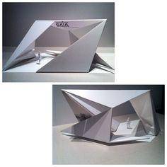 Folding Architecture, Concept Models Architecture, Architecture Design, Landscape Architecture Model, Pavilion Design, Arch Model, Exhibition Booth Design, Display Design, Retail Design