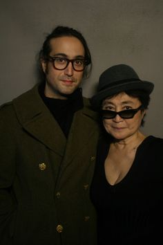 Lennon recently sat down with his mother, Yoko Ono -- not to talk about John Lennon or The Beatles, but to talk about her life and a strange coincidence involving limo drivers in their past. John Lennon, Kemp Muhl, Yoko Ono, Step Kids, Music Love, Famous Faces, The Beatles, Dna, Love Story