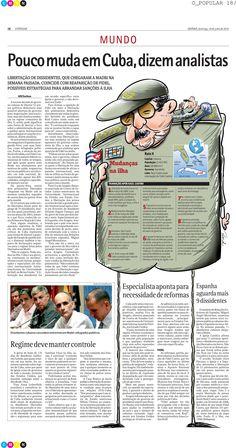 Arte feita para a editoria de Mundo - Jornal O Popular