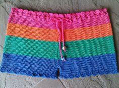 Color Block Shorts - Ta Dah!!!!! by LauraLRF, via Flickr