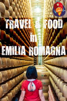 This is what is feels like to be surrounded by 33,752 wheels of Parmigiano Reggiano cheese! This and other tasty adventures in the Emilia Romagna region of Italy on our latest multimedia travel story - click the image for more! ;)