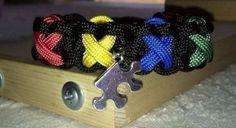 Paracord Bracelet Autism Awareness