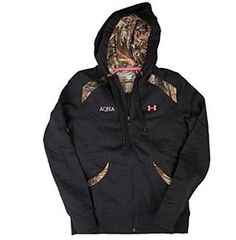 Check out this awesome Under Armour zip-up we just got in! Perfect for fall evenings around the bonfire!