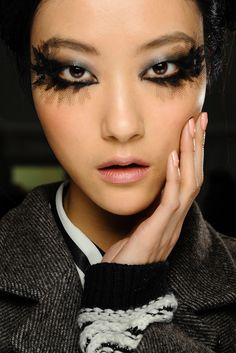 Chanel models | CHANEL : Beauty from Haute Couture 2013SS | About A Girl...