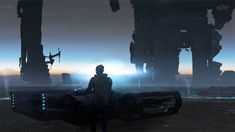"""Citizen Of The Galaxy"": Amazing Digital Cyberpunk Art By Kuldar Leement"