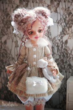 Купить или заказать Джилл в интернет-магазине на Ярмарке Мастеров. Авторская текстильная кукла.