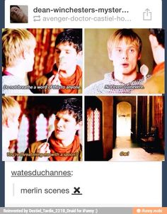 One of my fave Merlin scenes