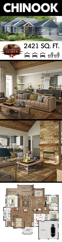 53 Trendy home design layout floor plans bath Home Design Living Room, Dream Home Design, Home Office Design, My Dream Home, House Design, Living Rooms, Dream House Plans, House Floor Plans, Beaver Homes And Cottages