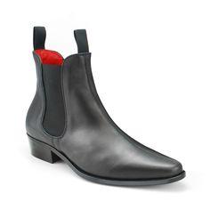 Classic Boot Black Calf Leather