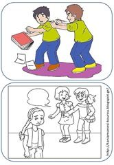 bu6 Play Therapy Activities, Activities For Kids, Stop Bullying, Family Guy, Clip Art, Comics, School, Blog, Fictional Characters
