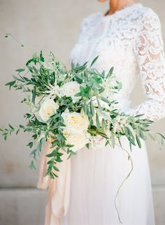 A talented team of wedding vendors transformed an all-neutral color palette into Greek style perfection including romantic drapery and olive branch details. Wedding Color Schemes, Colour Schemes, Wedding Colors, Santorini Wedding, Greece Wedding, Destination Wedding, Wedding Day, Event Planning Design, White Ribbon